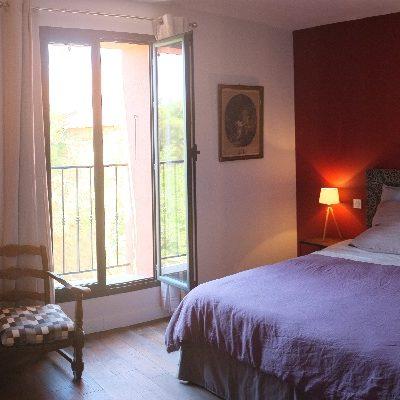 Chambre Petit Verdot 2 - Clos des Aspres