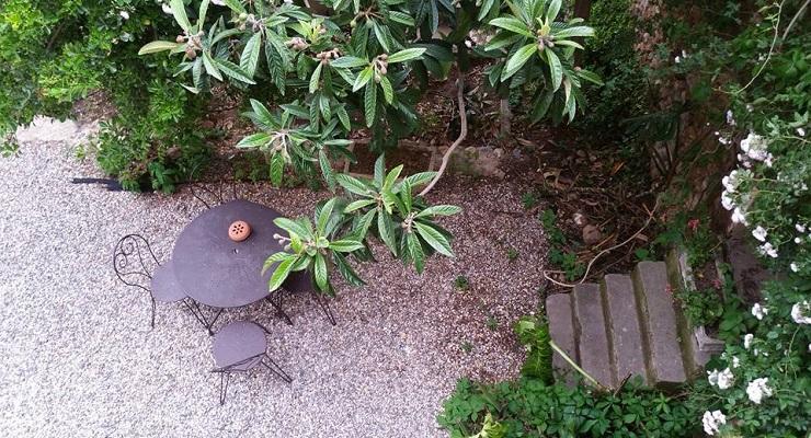 terrasse chambre olivière - clos des aspres